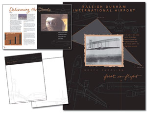Corporate Brochure and Stationery