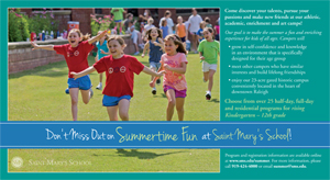 Summer Camp Direct Mail