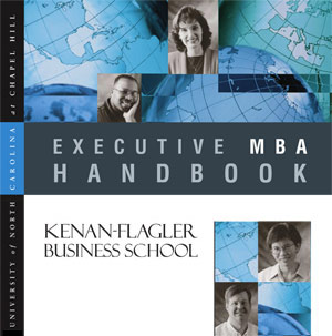 Executive MBA Handbook, Viewbook, Direct Mail, Application, and Admissions Package